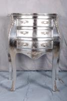 Commode argent de style Louis XV